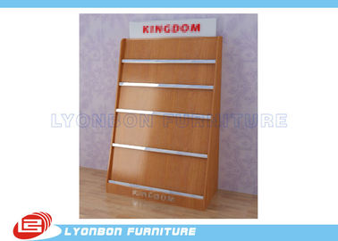 Shop MDF Magazine Display Rack Milamine Finished, Countertop Display Rack