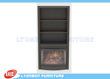 Grey Classic Home Decor Fireplaces MDF For indoor, Freestanding Wood Fireplace